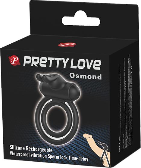 Pretty Love Osmond Cockring (Black)