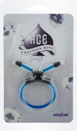 Seven Creation Ace Erection Ring (Blue)