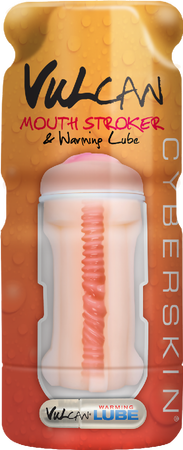 Vulcan Mouth Stroker With Warming Lube