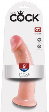 "King Cock 9"" Cock (Flesh) Suction Base"