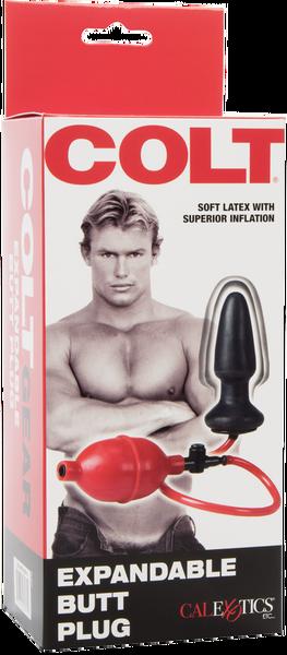 Colt Expandable Butt Plug (Black)