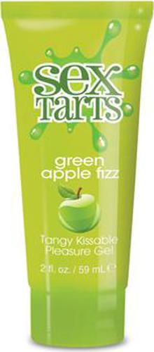 Sex Tarts Green Apple Fizz Edible Lube