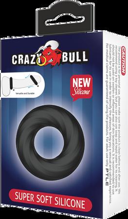 Crazy Bull Super Soft Silicone Cockring