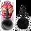 Thumbnail: Fur Pom Pom (Black)