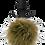 Thumbnail: Fur Pom Pom (Brown)