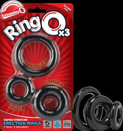 Screaming O Ring O X3 (Black)