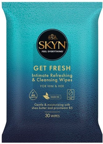 Skyn Get Fresh Intimate Cleaning Wipes