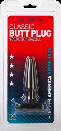 Butt Plug Smooth Small Black