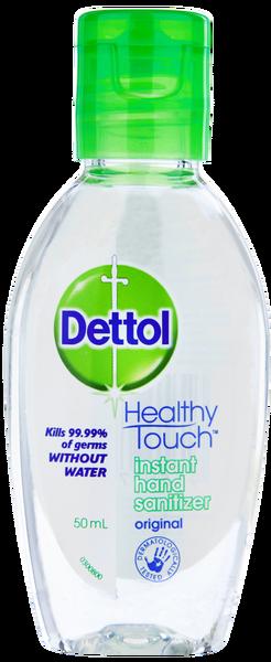 Dettol Antibacterial Instant Hand Sanitiser (50mL)