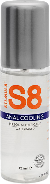Stimul8 Water Based Cooling Anal Lube 125ml