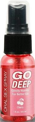 Go Deep Oral Sex Spray 29.57 ML (Cherry)