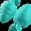 Thumbnail: Bfilled Basic Wave (Seafoam) Anal Plug