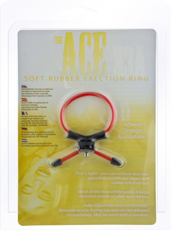 Seven Creation Ace Erection Ring (Red)