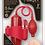 "Thumbnail: Lust Pumper 8"" Vibrating Pump With Gauge (Vagina) (Red)"