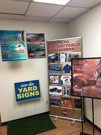 Custom Signs & Banners