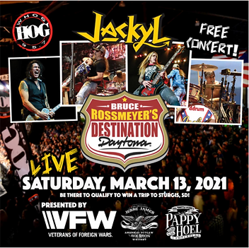 03-13-21 Jackyl Live concert at Destinat