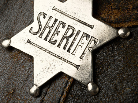 What is a sheriff?