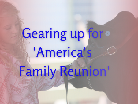 Gearing up for 'America's Family Reunion'