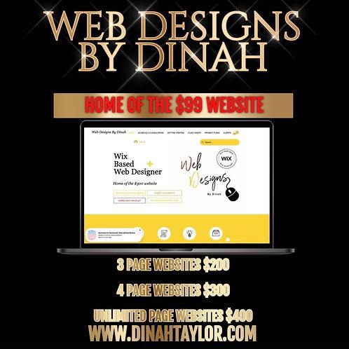 Business Website Blowout Sale