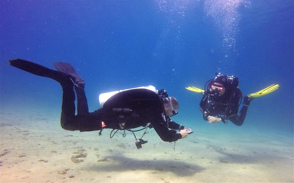 TDI Buoyancy skills with Scuba Murcia