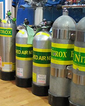 Nitrox tanks