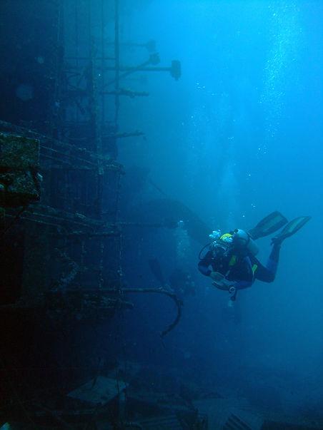 Red Sea Wreck MK Scuba School