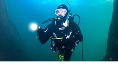 PADI Dry Suit Diver MK Scuba School
