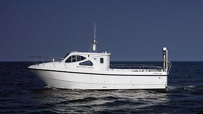 MK Scuba School Swanage Dive Boat