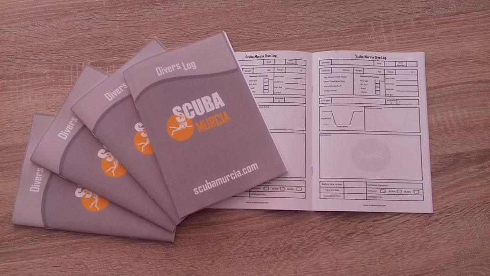Scuba Murcia new books