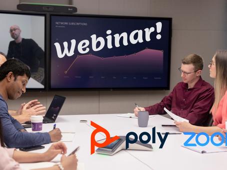 Webinar: Przygotuj się na powrót do biura. Rozwiązania wideokonferencyjne Poly dla platformy Zoom.