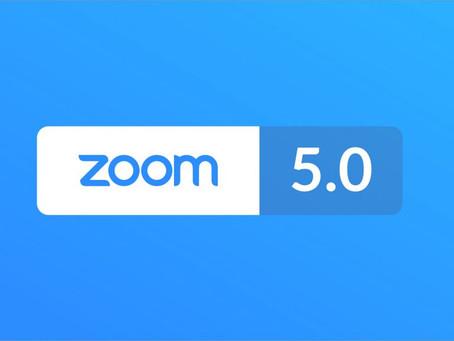 Zoom 5.0 - przypominamy - konieczny upgrade przed 30.05.2020