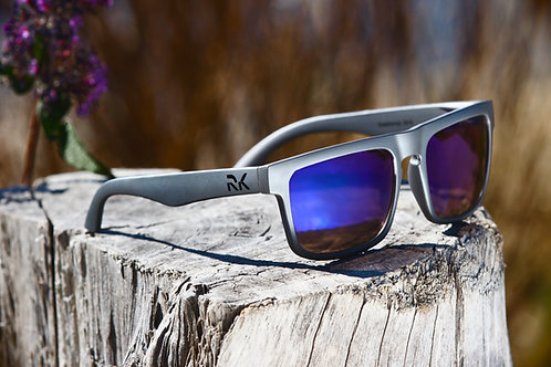 RK Matt Grey Sunglasses