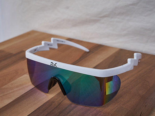 RK WhiteStrike Sunnies - Green Lens