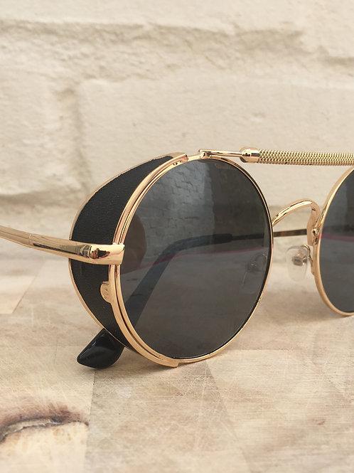 Gold Steampunk RKNZ Sunglasses