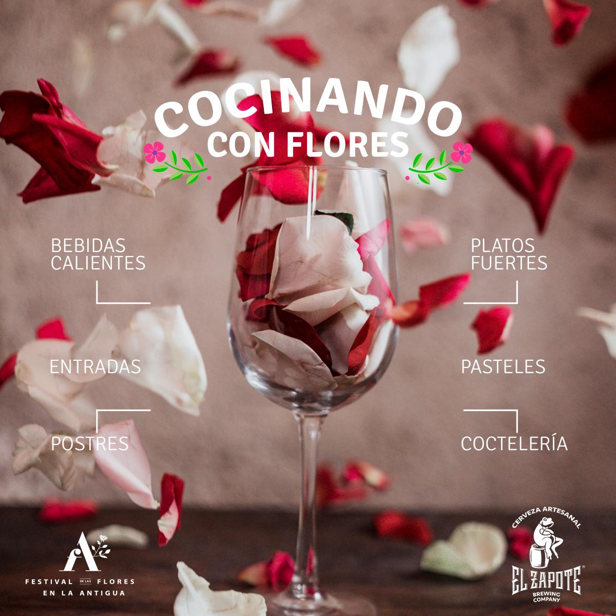 COCINANDO CON FLORES