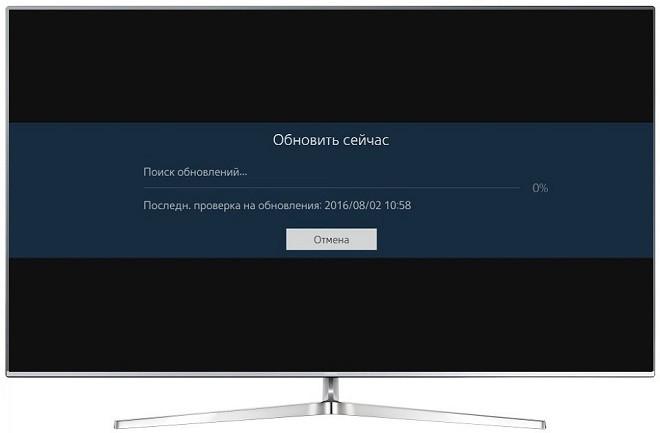 Восстановление программного обеспечения телевизора