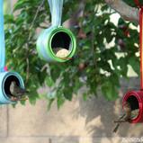 Paint Can Bird Feeders