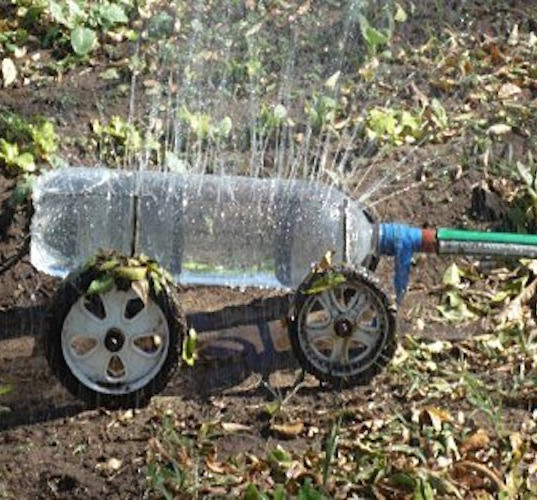 Portable Plastic Bottle Sprinkler