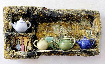 Aunt Bet Had Lots of Teapots...