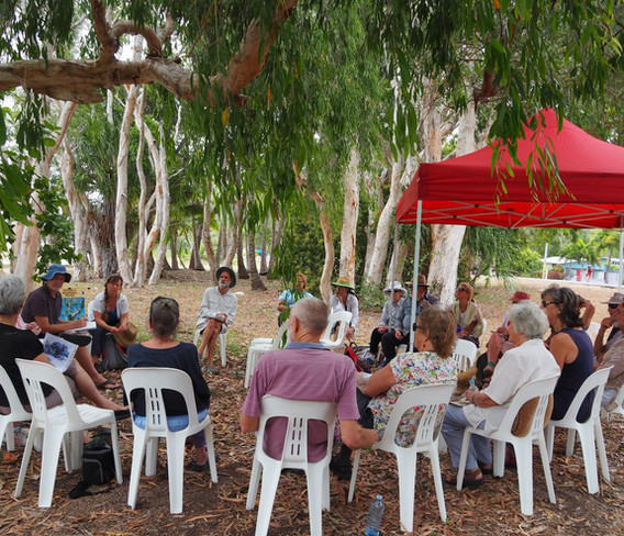 Significant Trees Workshop, Geoffrey Bay.