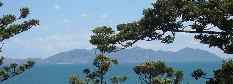 Views over Cleveland Bay from the headlands.