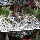 Mosaic Sink Planter