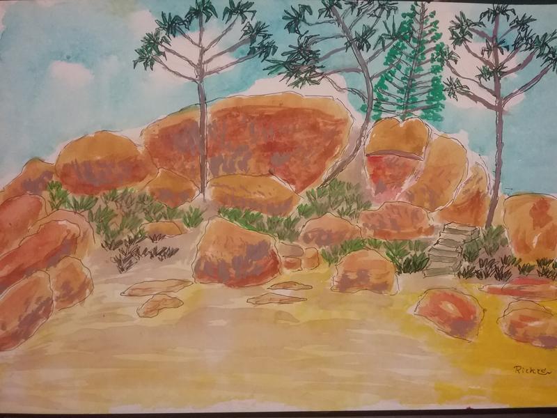 Picnic Bay boulders