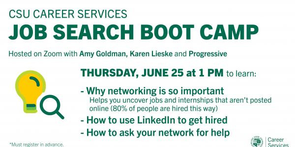 Job Search Boot Camp image