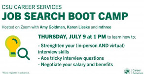 Resources for Job Search Boot Camp 7/9