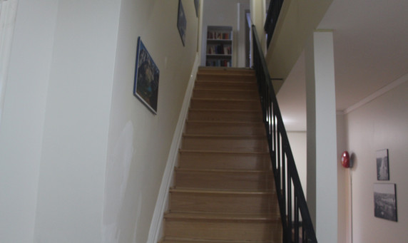 1st floor stairs to the 2nd floor