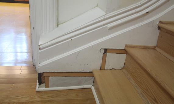 1st floor, stairway to the 2nd floor