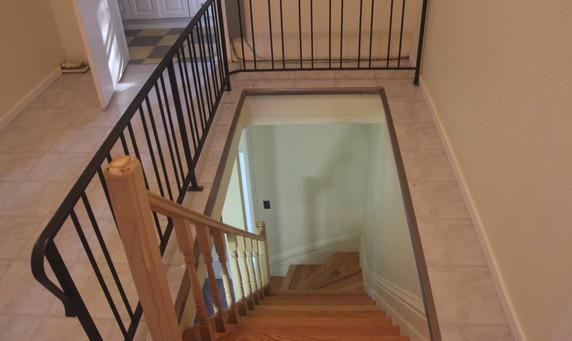 3rd floor stairs looking down