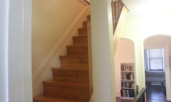 stairs to the 3rd floor