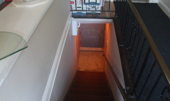 1st floor stairs to the basement